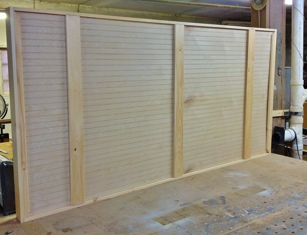 Contemporary Insulated Barn Doors All Points Build
